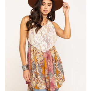 NWT Free People Women's Count me in Trapeze Dress